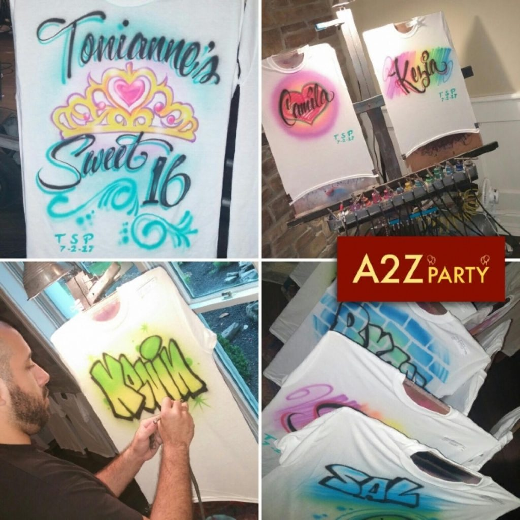 6ad252db Airbrush Artist Party - Great for Teens or Kids Party | A2Z PARTY