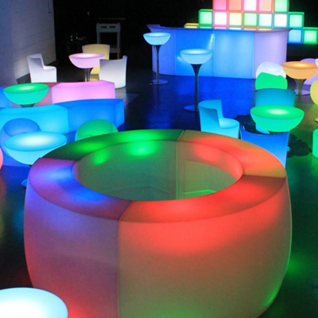 LED Furniture for Rent - A2Z PARTY